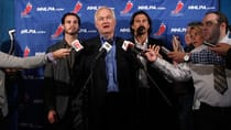 NHLPA executive director Donald Fehr and the players' union will continue talks with the league on Thursday. (Mary Altaffer/Associated Press)