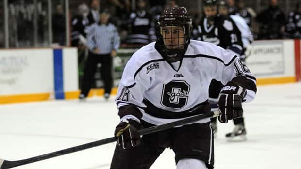 Tylor Spink was key during the Colgate Raiders' 5-1-1 run before the semester break. (Bob Cornell/Colgate University)