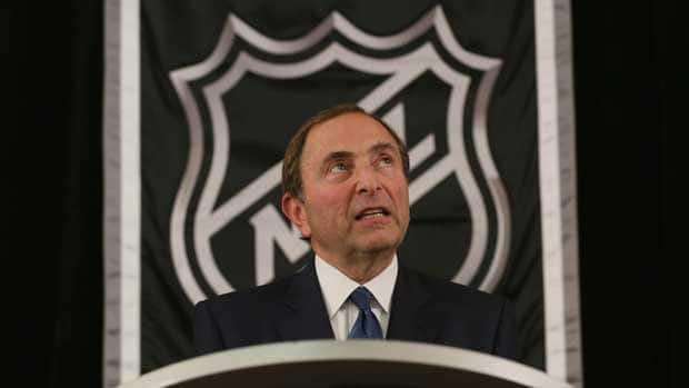 NHL commissioner Gary Bettman and the league have been meeting with mediators, along with the NHLPA, to help resolve the months-long labour dispute. (Bruce Bennett/Getty Images)