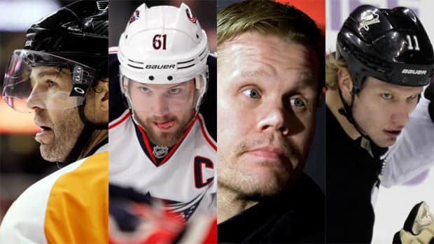 Jaromir Jagr, Rick Nash, Olli Jokinen and Jordan Staal are just a few of many NHLers who changed addresses since last season ended. (Canadian Press/Associated Press/CBCSports)