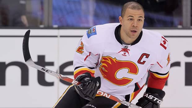 Jarome Iginla's future with the Calgary Flames is just one of the juicy storylines that could draw in the fans of Canadian-based NHL teams. (Jeff Gross/Getty Images)