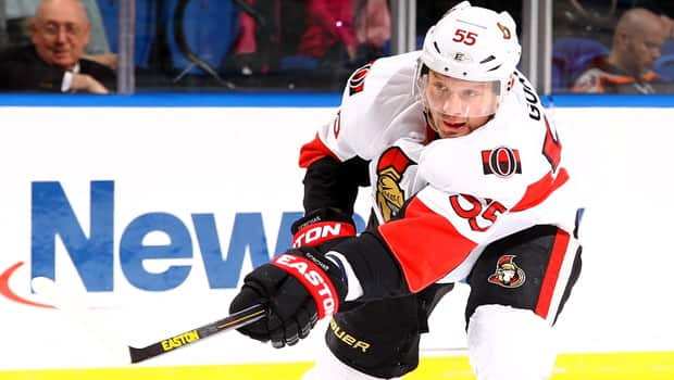 Sergei Gonchar has helped pick up the slack for the Ottawa Senators since Erik Karlsson was injured. (Al Bello/Getty Images)
