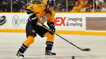 Nashville Predators centre David Legwand has four goals and four assists this season. (Frederick Breedon/Getty Images)