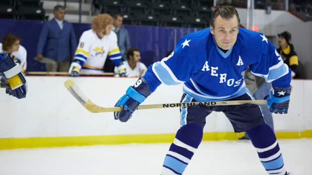 Canadian actor Michael Shanks laces up the skates to portray Hockey Hall of Famer Gordie Howe in a biopic airing Sunday on CBC.