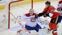 Montreal's Carey Price should have his hands full with Ottawa's Chris Neil. But which team will win their first-round playoff series? (File/Canadian Press)