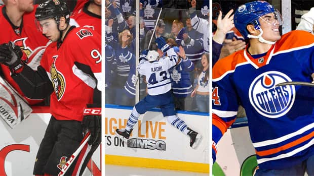 Who had the best highlight-reel tally this year, Mika Zibanejad, Nazem Kadri, or Nail Yakupov? (Photos courtesy Getty Images)