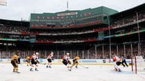 Boston's Fenway Park hosted the Winter Classic between the Bruins and Flyers on New Year's Day 2010. (Jim McIsaac/Getty Images)