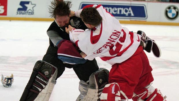 Patrick Roy S Memorable Mile High City Moments Hockey
