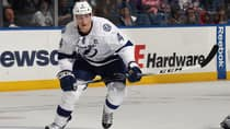 Tampa Bay centre Vincent Lecavalier became one of the league's more coveted free agents after the Lightning bought out his contract on Thursday. (Bruce Bennett/Getty Images)