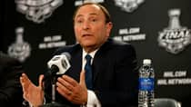 NHL Commissioner Gary Bettman strongly suggested on Wednesday that he would like to see an agreement in place between the Phoenix Coyotes and the city of Glendale, Ariz., by the NHL board of governors' meeting on June 27. (Gregory Shamus/Getty Images)