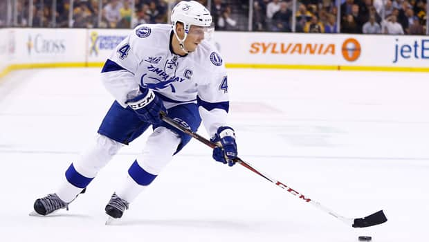 Vincent Lecavalier had 10 goals and 32 points in 36 games this season, but rumours of a possible buyout persist in Tampa Bay. (Jared Wickerham/Getty Images)