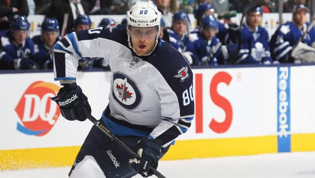 Veteran forward Nik Antropov of the Winnipeg Jets is one of several unrestricted free agents as of noon ET on Friday, July 5. (Claus Andersen/Getty Images)
