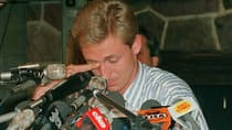 Wayne Gretzky held a tearful goodbye press conference on Aug. 9, 1988. (Ray Giguere/Canadian Press)