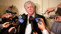 In his 26 years as an NHL executive, the Calgary Flames' new president of hockey operations Brian Burke has developed a daring and outspoken reputation. (Darren Calabrese/Canadian Press)