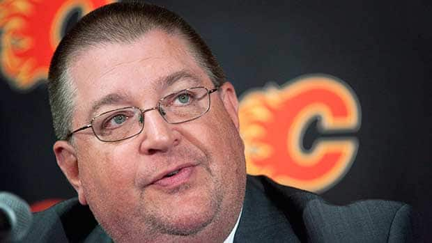Calgary Flames general manager Jay Feaster is overseeing a club looking to improve upon its 25th-place finish in the league last year. (Jeff McIntosh/Canadian Press)