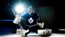 Newly acquired netminder Jonathan Bernier is one of many Maple Leafs players who finds himself squarely in the spotlight. (Nathan Denette/Canadian Press)