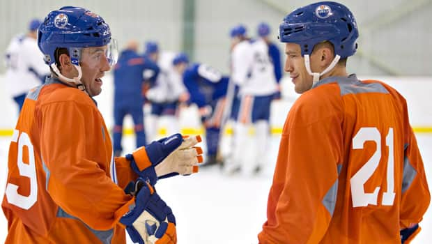 Defenceman Andrew Ference (21) is unfazed by his hometown Oilers having missed the playoffs the past seven seasons. (Jason Franson/Canadian Press).