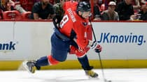 Alexander Ovechkin and others will likely be penalized for tucking in hockey sweaters, a violation of NHL uniform guidelines. (Greg Fiume/Getty Images)