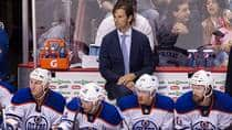Edmonton Oilers head coach Dallas Eakins was passed over for the job behind Toronto's bench in 2012. (Ben Nelms/Getty Images)