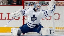 Jonathan Bernier has made a strong case for being named Toronto's top goalie. (Bruce Bennett/Getty Images)