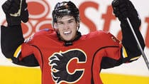Flames rookie sensation Sean Monahan scored six goals in his first eight NHL games. (Larry MacDougal/Canadian Press)
