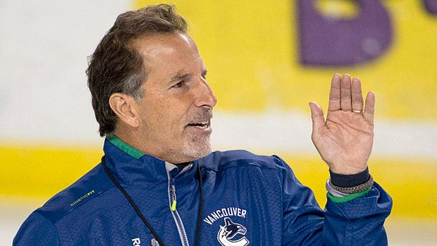 Will coach John Tortorella, whose demanding ways wore thin in New York with the Rangers, push the Canucks back to playoff success? That remains to be seen, according to CBCSports.ca senior hockey writer Tim Wharnsby, and a big reason why the Vancouver situation will be such a compelling story during the upcoming NHL season. (Jonathan Hayward/Canadian Press)