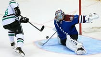 Semyon Varlamov (1) has been sensational for the Avalanche, posting a miniscule 1.20 GAA in five winning starts this season. (Doug Pensinger/Getty Images)