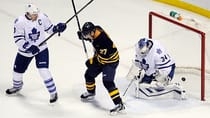 The Toronto Maple Leafs dropped their sixth straight road game 3-2 in overtime Friday against the Buffalo Sabres. (Gary Wiepert/Associated Press)