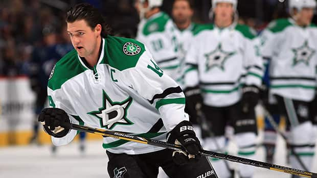 Dallas Stars captain Jamie Benn wasn't invited to Canada's Olympic orientation camp, but he opened the season with six goals and 16 points in 18 games. (Doug Pensinger/Getty Images)