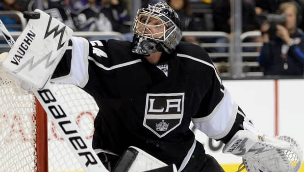 Hockey Night in Canada analyst Kelly Hrudey likes what he sees in Kings netminder Ben Scrivens, who has been spectacular. (Harry How/Getty Images)