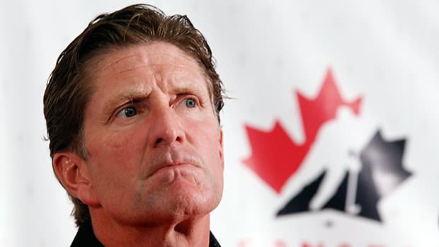Head coach Mike Babcock at the Canadian national men's team orientation camp in Calgary on Sunday, Aug. 25, 2013. Jeff McIntosh/The Canadian Press