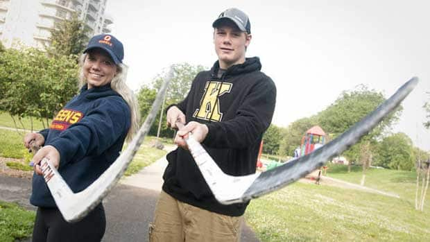 Lawson Crouse, 16, and his sister Kyla, 18, of Mt. Brydges, Ont. (near London) are finding their way in hockey together in Kingston with the Frontenacs and Queen's University, respectively. (Photo courtesy Craig Glover/QMI Agency)