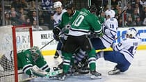Toronto's 7-1 loss to the Dallas Stars on Thursday marked the third time this season the Maple Leafs were beaten by six goals -- all on the road. (Ronald Martinez/Getty Images)