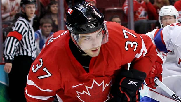 Team Canada forward Patrice Bergeron says he won't have any friends or family travelling to Russia as a spectator. (Bruce Bennett/Getty Images)
