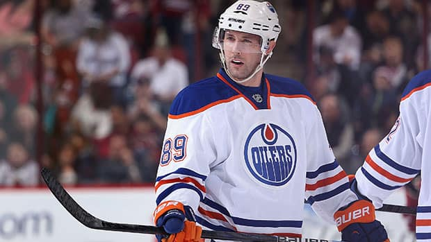 Sam Gagner is one of the Edmonton veterans rumoured to be on the trading block. (Christian Petersen/Getty Images)