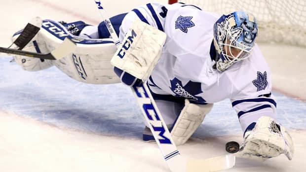 Toronto Maple Leafs goaltender Jonathan Bernier has been a big contributor to his team's push to make the post-season this year. (Robert Mayer/USA TODAY Sports/Reuters)