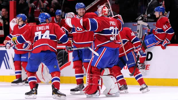 The Montreal Canadiens earned a dramatic comeback victory over the Ottawa Senators last week. (Richard Wolowicz/Getty Images)