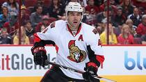 Ottawa Senators defenceman Chris Phillips will be an unrestricted free agent at the end of the season. (Christian Petersen/Getty Images)