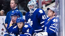 Goalie Jonathan Bernier (45) and the rest of his Toronto Maple Leafs' teammates need to have better starts to games if the team hopes to make the playoffs. (Nathan Denette/Canadian Press)