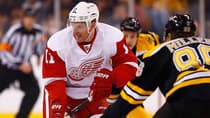 Red Wings winger Daniel Alfredsson, 41, says he will speak to his family before deciding if he's up to playing a 19th NHL season. But does Detroit want him back? Although he was productive with 18 goals and 49 points, Alfredsson battled injuries all season and back problems after the Olympics. (Jared Wickerham/Getty Images)