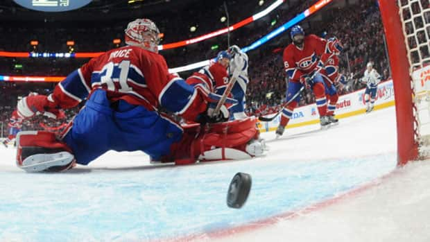 Talk of expanded video review only heightened after a goal was waved off in the Lightning-Canadiens series on Sunday night. (Francois Lacasse/NHLI via Getty Images)