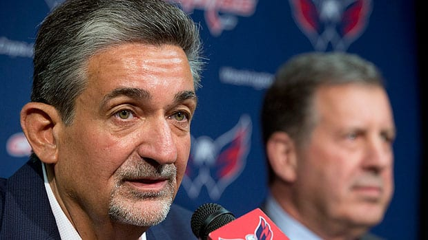 Washington owner Ted Leonsis admits Capitals players influenced his decision to fire GM George McPhee and head coach Adam Oates, writes Hockey Night in Canada's Elliotte Friedman, adding Leonsis and team president Dick Patrick Leonsis and Patrick interviewed just about everybody they could think of. (Jacquelyn Martin/Associated Press)