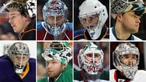 The eight goaltenders that will lead their Western Conference teams into the Stanley Cup playoffs. (CBCSports.ca/Getty Images)