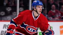 Speedy rookie forward Michael Bournival posted seven goals and 14 points in 60 regular-season games with the Canadiens. (Richard Wolowicz/Getty Images)