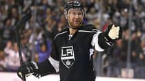 Seeming energized by a pair of young linemates, Jeff Carter ranks third in Kings playoff scoring with 12 points in 15 games. (Stephen Dunn/Getty Images)