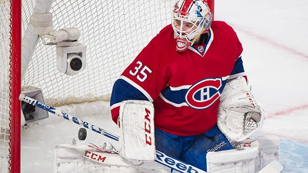 Goaltender Dustin Tokarski simply wasn't good enough in the Montreal Canadiens' Game 2 loss to the New York Rangers Monday night. (Graham Hughes/Canadian Press)