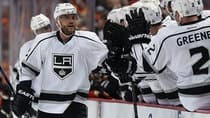 Marian Gaborik has scored five times in eight playoff games with Los Angeles, including the tying goal and the OT winner in the series opener against Anaheim. (Jeff Gross/Getty Images)