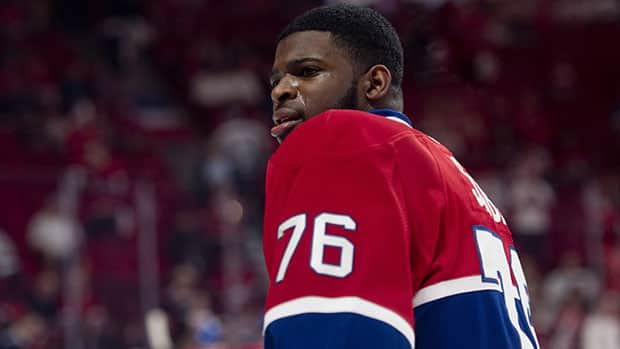 Dynamic defenceman P.K. Subban could be in line for a new long-term contract. (Adrian Wyld/Canadian Press)