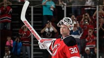 Despite his age (42) and decent, but not outstanding 2013-14 regular season (.901 save percentage), it appears there is a market for sure-fire Hall of Fame goaltender Martin Brodeur, a three-time Stanley Cup champion.(Bruce Bennett/Getty Images)
