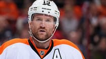 Scott Hartnell was traded by the Flyers to Columbus on Monday. (Christian Petersen/Getty Images)